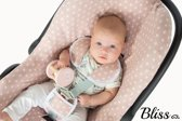 Bliss - Maxi-Cosi hoes - Autostoelhoes Ster Oud Roze