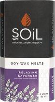 Soil - Wax Melts - Lavendel - 8 Wax Tabletten - Laat Je Huis Heerlijk Ruiken Met De Kerst - Gratis Aroma Brander