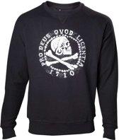 Uncharted 4 - Pro Deus Qvod Licentia Men's Crewneck Sweater - Maat L