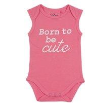 Fun2Wear Romper Born Cute Pink maat 74
