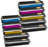 PlatinumSerie® set 10 toner XL alternatief voor Brother TN-230 black cyaan magenta yellow