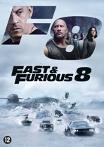 DVD cover van Fast & Furious 8: The Fate Of The Furious