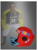 American Football helm wordt per stuk en per kleur geleverd