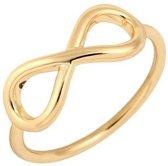 Joboly Infinity eindeloos oneindig subtiele ring  - Dames - Goudkleurig