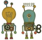 Sizzix Thinlits Die Set - 14PK Robotic 664162 Tim Holtz (01-19)