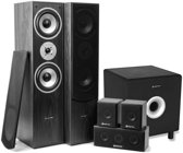 SkyTronic 5.1 home cinema surround speakerset 1300W met 8