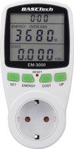 Energiekostenmeter 3680 Watt Basetech EM-3000