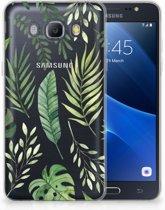 Samsung Galaxy J5 2016 Uniek TPU Hoesje Leaves