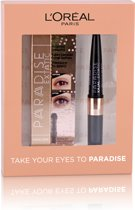 L'Oréal Paris Paradise Extatic Mascara Eyeliner Giftset - 01 Black - Make-up geschenkverpakking