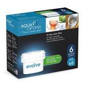 Aqua Optima Evolve sixpack: vervangingsfilter voor Brita® Maxtra® filterpatronen