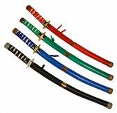 Zwart ninja zwaard van plastic 60 cm