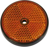 Carpoint Reflectoren rond 70 mm oranje 2st