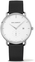 Paul Hewitt Grand Atlantic Line White Sand - Horloge - 42mm - Zwart