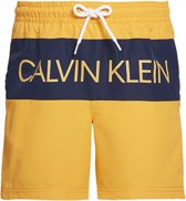 Calvin Klein jongens zwembroek medium drawstring - blazing orange-164-176