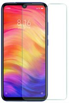 Xiaomi Redmi Note 7 - Tempered Glass Screenprotector - Case-Friendly