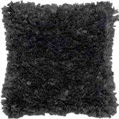 Kussenhoes Romano 45x45cm zwart