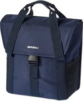 Basil Go-Single Bag - Enkele fietstas - 18L-  Dark Denim Blue