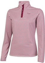 Protest Fleece Top Dames SURPRISE Beet RedXL/42