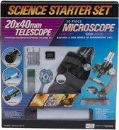 Microscoop + telescoop starter set - 20 delig