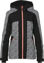 O'Neill PW Signal Wintersportjas - Maat S  - Vrouwen - zwart/ wit/ roze