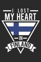 I Lost My Heart In Finland: notebook/diary/taskbook/120 pages/checked pages,6x9 inch
