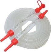 Slangwaterpas met pvc water slang 10 meter waterpas