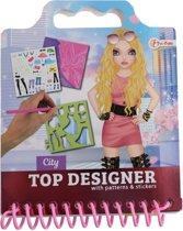 9861051a93e49f bol.com | Schetsboek rockster kleding ontwerpen met stickers en ...