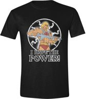 Masters of the Universe - I Have The Power Mannen T-Shirt - Zwart - S