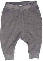 Ebbe -  baby broek - Nisse - antraciet grey melange
