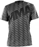 Adidas Trainingsshirt Heren Grijs Maat Xl