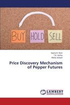Price Discovery Mechanism of Pepper Futures
