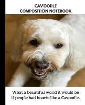 Cavoodle Composition Notebook