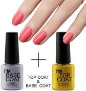 top coat & base coat nagellak uv gellak - Levay ®