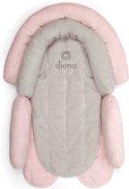 Diono - Autostoelverkleiner baby - Maxi Cosi verkleiner - Cuddle Soft roze/grijs