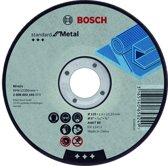 Doorslijpschijf recht Standard for Metal A 30 S BF, 125 mm, 22,23 mm, 2,5 mm 1st