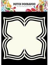 Dutch Doobadoo Dutch Shape Art frames bloem + 4 bladeren  A4