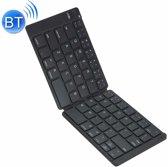 MC Saite MC-B047 78 sleutels opvouwbaar ultra-dunne lederen Shell Bluetooth 3.0-toetsenbord voor mobiele telefoon  Tablet PC  Laptop(Black)