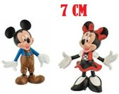 Walt Disney Mickey Mouse & Minnie Mouse in Lederhose SET (7cm)