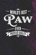 World's Best Paw Ever Premium Quality