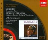 Mahler: Symphony No. 9; Richard Strauss: Metamorphosen; Tod und Verklarung