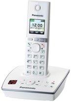 Panasonic KX-TG8061GW - Single DECT telefoon - Antwoordapparaat - Wit