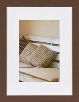 Henzo Fotolijst Driftwood - Fotomaat 30x40 cm - Donker Bruin