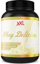 XXL Nutrition Whey Delicious - Vanille - 1000 gram