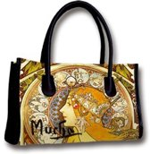 "Handbag ""Zodiac"" van Alphonse Mucha"