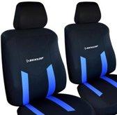 Dunlop autostoelhoezen set - Autostoelhoes - Stoelhoezen| 6-delig - Blauw