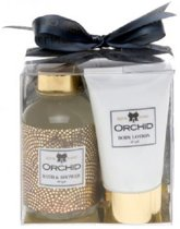 Orchid douche & bodylotion Giftset