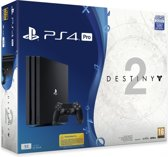 Sony PlayStation 4 Pro 1TB Console - Zwart + Destiny 2 + Voucher That's You!