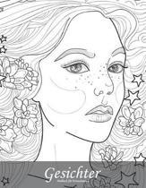 Gesichtermalbuch F r Erwachsene 6