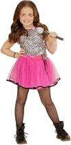 Mini Popster | Meisje | Maat 116 | Carnaval kostuum | Verkleedkleding