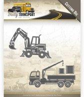 Mal  - Amy Design - Daily Transport -Bouwvoertuigen